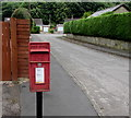 SO5820 : Queen Elizabeth II postbox on a Walford corner by Jaggery