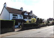 ST0881 : Cardiff Road semis, Creigiau by Jaggery