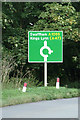 TF8207 : Roadsign on the A1065 Brandon Road by Adrian Cable