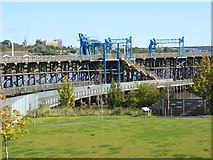 NZ2362 : Dunston Staithes by Oliver Dixon