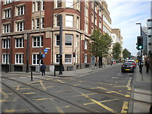 SJ8498 : Junction of Dantzic Street and Balloon Street, Manchester by Richard Vince