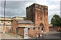 SJ4065 : The Agricola Tower at Chester Castle by Jeff Buck