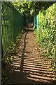 SX8965 : Footpath near Shiphay Manor by Derek Harper