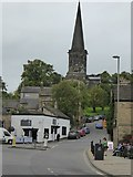 SK2168 : Bakewell church by David Smith