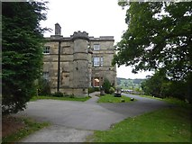 SK2957 : Willersley Castle hotel by David Smith