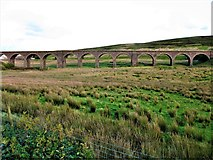 SD7992 : Dandrymire Viaduct (Moorcock Viaduct), Garsdale by G Laird