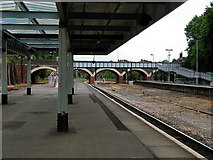 SX9193 : Exeter Central Station by John Lucas