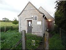 SP1106 : Bibury Telephone Exchange (1) by David Hillas