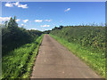 NU1434 : Minor road at Waren Mill by John Allan