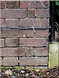 TQ1776 : Bench mark in Syon Park, Brentford, London by John S Turner