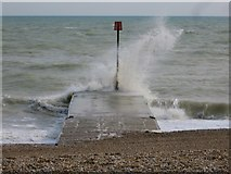 TQ7306 : Sea at Bexhill by Oast House Archive
