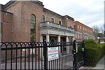 TQ2688 : Hampstead Garden Suburb Synogogue by N Chadwick