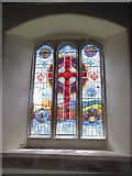 SX5699 : Millennium window in Inwardleigh church by David Smith
