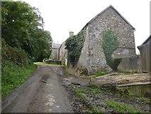 SS5400 : Farm buildings at Norleigh Barton by David Smith