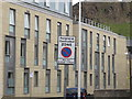 NT2673 : Deaconess Hospital, Salisbury Crags and parking signs by David Hawgood