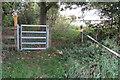 SP9255 : Gate on the Milton Keynes Boundary Walk by Philip Jeffrey