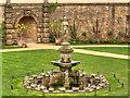 SK4770 : Bolsover Castle, The Fountain Garden by David Dixon