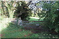 SP9456 : Gate on the path to private fishing by Philip Jeffrey