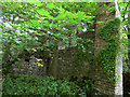 NZ0900 : Boundary wall of the Orangery by Stephen Craven