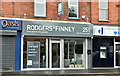 J3773 : Rodgers & Finney, Ballyhackamore, Belfast (September 2017) by Albert Bridge
