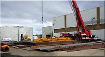 NS3274 : Ferguson Marine shipyard, Port Glasgow by Thomas Nugent