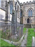 SK2168 : The Great Cross, All Saints' church, Bakewell by David Smith