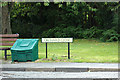 TL9161 : Orchard Close sign & Grit Bin by Adrian Cable