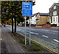 ST3188 : Part-time bus lane, Chepstow Road, Newport by Jaggery