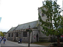 TL8783 : St Cuthbert, Thetford: mid September 2017 by Basher Eyre