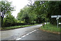 TL9164 : Thurston Road at Fishwick Corner by Adrian Cable