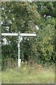 TL9163 : Signpost on the A14 slip road by Adrian Cable