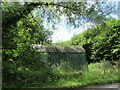 SO6716 : Corrugated iron shed at Shapridge by Jonathan Thacker