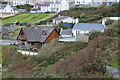 SN2751 : Houses with balconies with a sea view, Tresaith by M J Roscoe