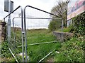 SJ9291 : Fenced off cutting by Gerald England