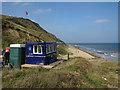 TG2938 : National Coastwatch lookout, Trimingham Beach by Hugh Venables