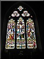 TL8195 : St Peter, Ickburgh: altar window by Basher Eyre