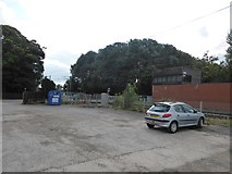 SK7964 : Car park, Great Northern Inn by Bob Harvey