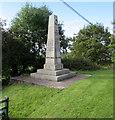 ST1082 : Pentyrch War Memorial by Jaggery