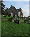TQ1810 : Bramber: in St Nicholas's churchyard by John Sutton