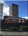 SP3682 : The Samuel Hayward Day Centre, Riley Square, Bell Green, north Coventry by Robin Stott