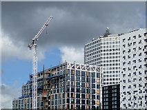 SP0686 : Birmingham skyline by Roger  Kidd