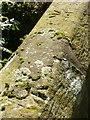 SK7874 : Bench marks, bridge near Mill Farm, East Drayton by Alan Murray-Rust