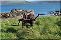 NX0271 : Old Winch at Portmore by Billy McCrorie