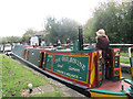 SP9114 : Angus, the Old Bovine, negotiates Lock 39 at Marsworth by Chris Reynolds