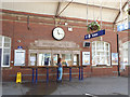 TA1766 : Bridlington station - booking office by Stephen Craven