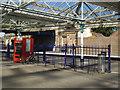 TA1766 : Bridlington station - cycle rack by Stephen Craven