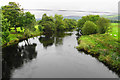 SJ0237 : The River Dee near Llandrillo by Bill Boaden