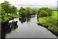 SJ0237 : The River Dee near Llandrillo by Bill Boaden