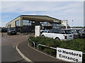 TF6318 : Land Rover dealership, Scania Way by Hugh Venables
