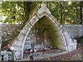 NJ4926 : Alexander Gordon memorial, Rhynie old kirkyard by Bill Harrison